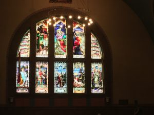 Incredible Windows at St. Anne's Church in Little Portugal